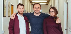 Quotiss Team - Michal Polak, Marcin Zarzecki, Margarita Tokareva