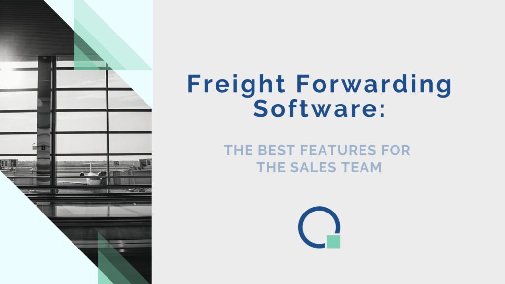 Quotiss Freight Forwarding Software