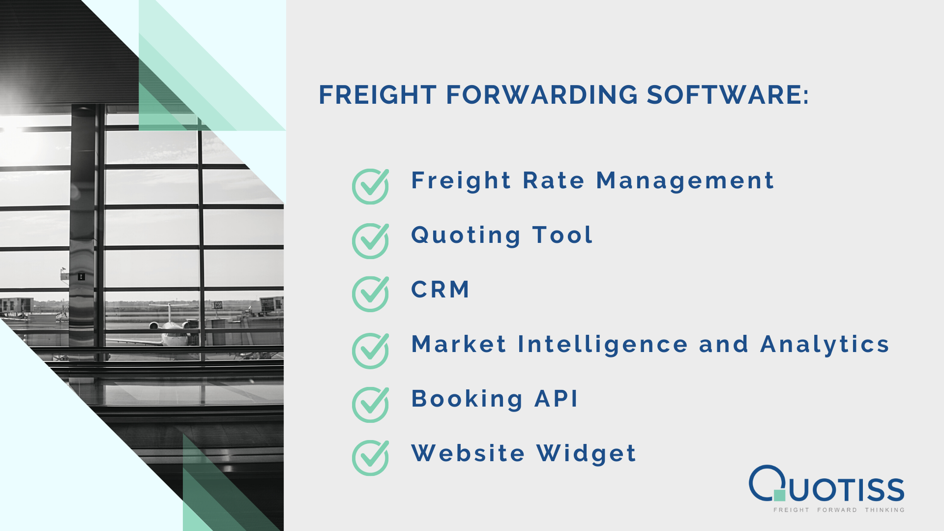 Quotiss - Freight Forwarding Software