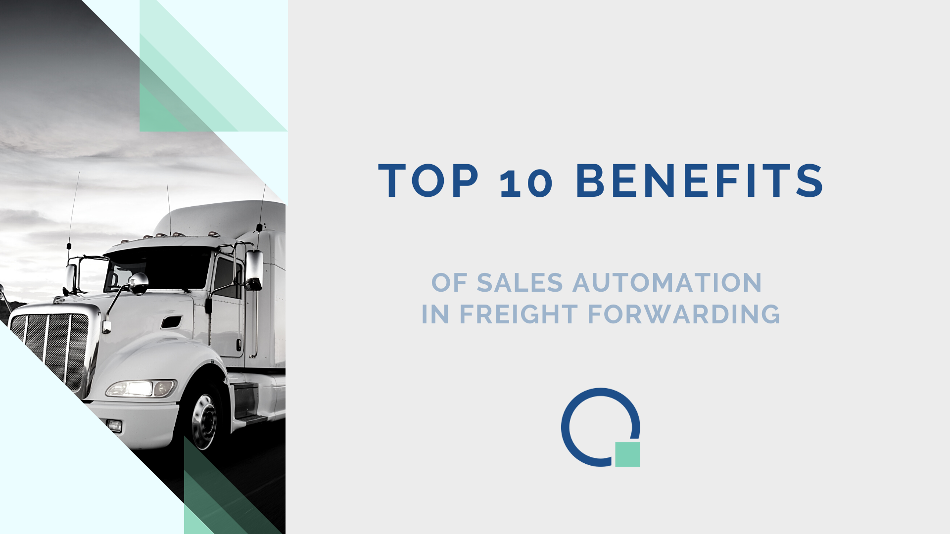 Sales Automation in Freight Forwarding, Quotiss Benefits